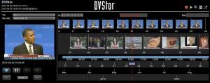 DVStor Timeline Content Browser